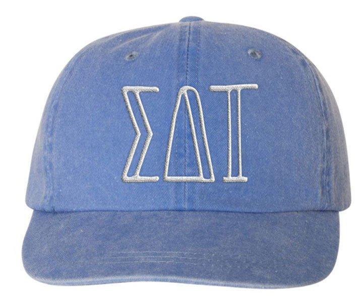Sigma Delta Tau Carson Greek Letter Hats