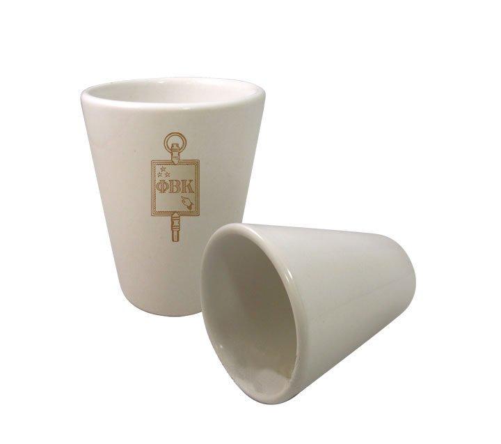 Phi Beta Kappa Crest Ceramic Collectors Glass