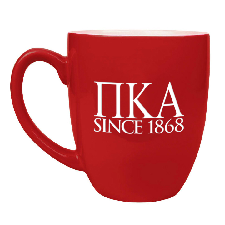 Pi Kappa Alpha Greek Bistro Mug