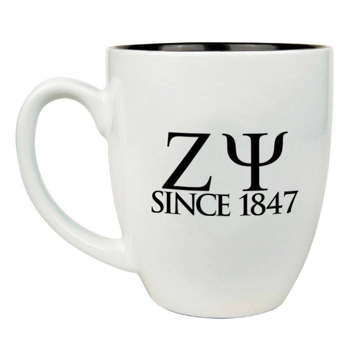 Zeta Psi Greek Bistro Mug