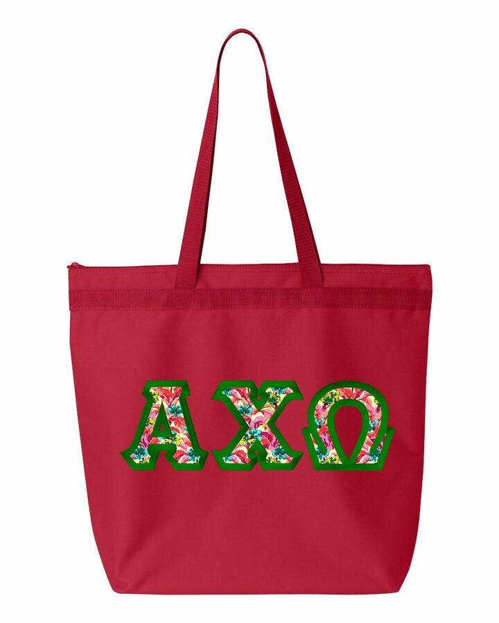 $19.99 Custom Satin Stitch Tote Bag