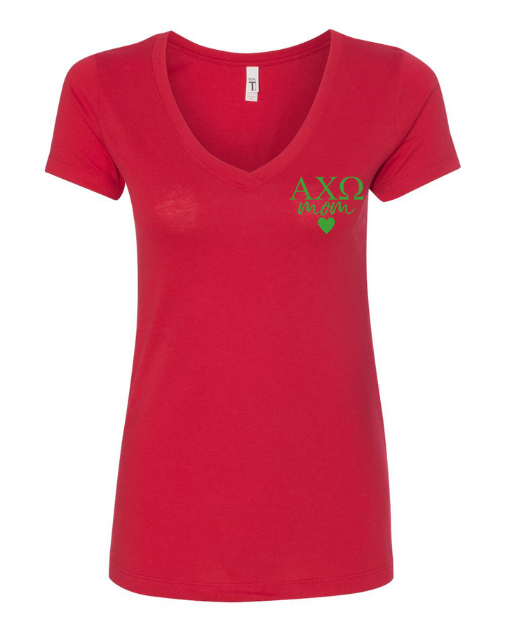 Alpha Chi Omega Mom Ideal V-Neck