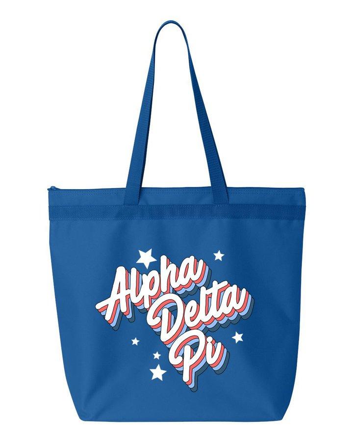 Alpha Delta Pi Flashback Tote bag