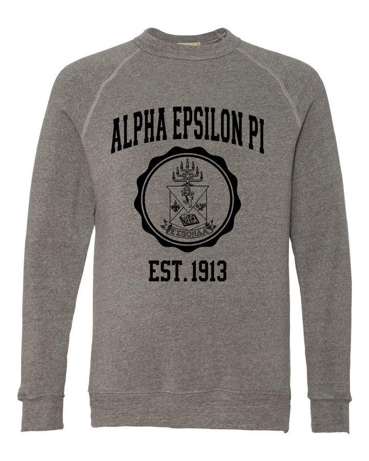 Alpha Epsilon Pi Alternative - Eco-Fleece™ Champ Crewneck Sweatshirt