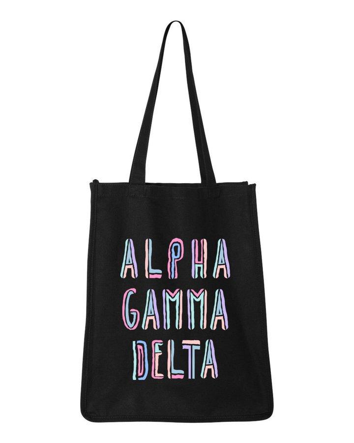 Alpha Gamma Delta Jumbo All In Tote Bag