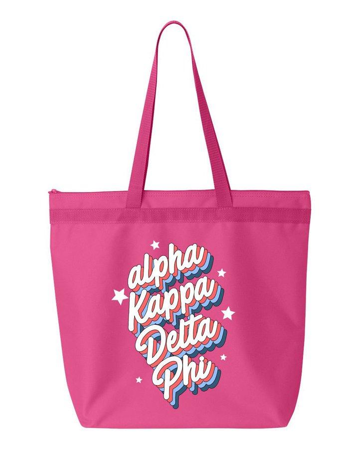 Alpha Kappa Delta Phi Flashback Tote bag