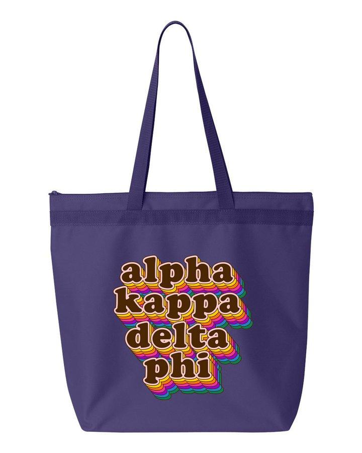 Alpha Kappa Delta Phi Maya Tote Bag