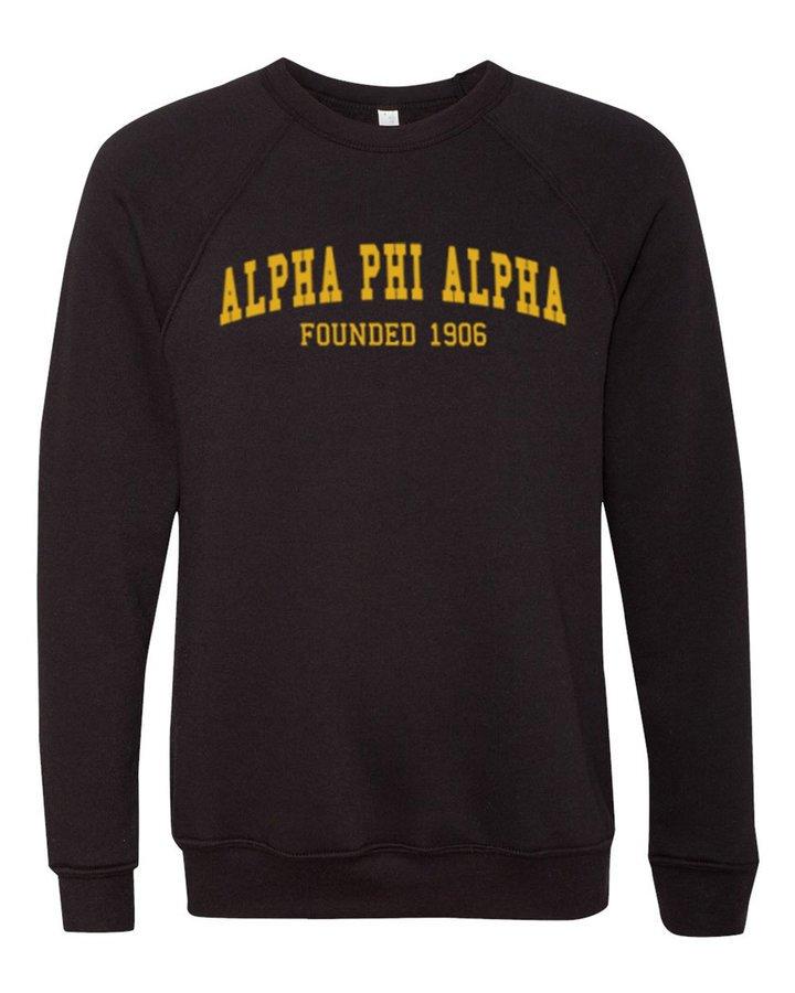 Alpha Phi Alpha Fraternity Founders Crew Sweatshirt