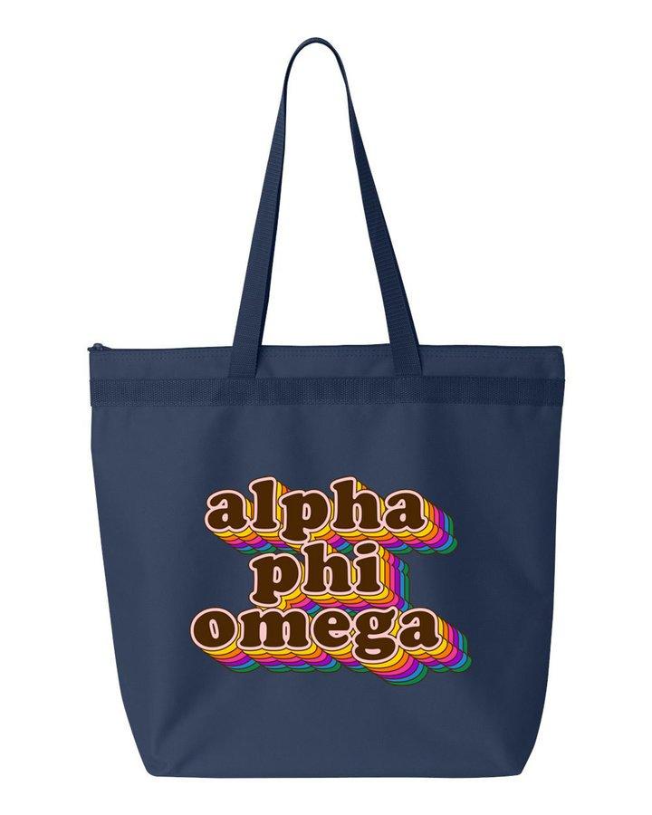 Alpha Phi Omega Maya Tote Bag
