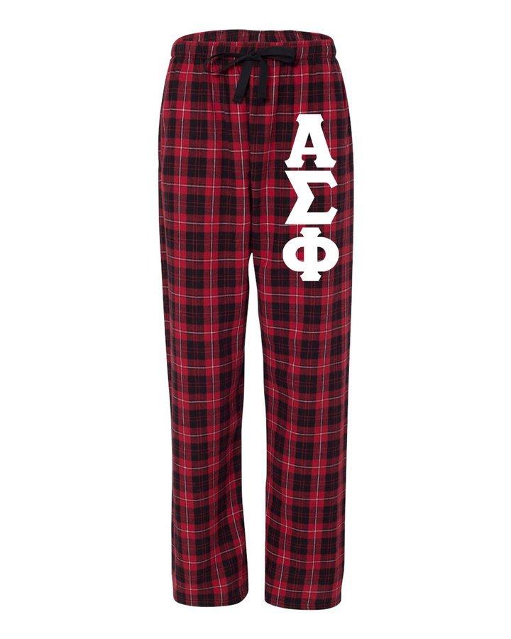 Alpha Sigma Phi Pajamas Flannel Pant