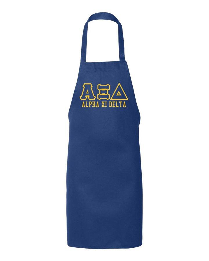 Alpha Xi Delta Large Apron