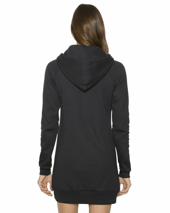 American Apparel Sorority Flex Fleece Hooded Dress