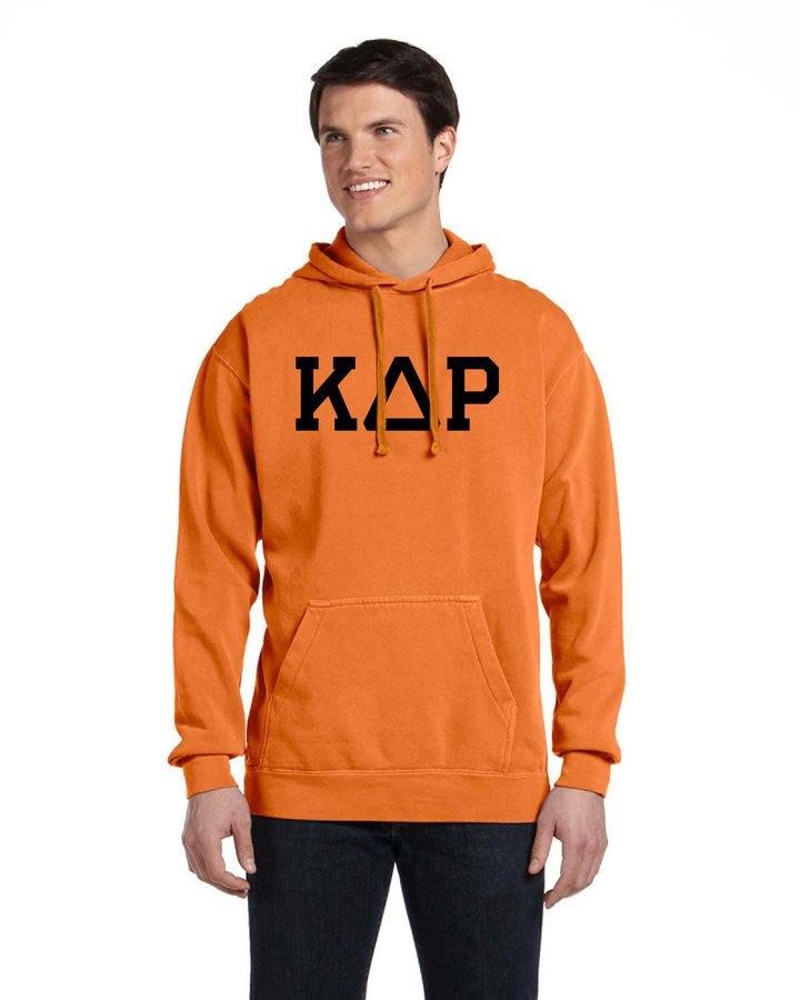 Comfort Colors Greek Varsity Hoodie