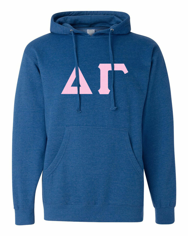 Delta Gamma Lettered Independent Trading Co. Hooded Pullover Sweatshirt