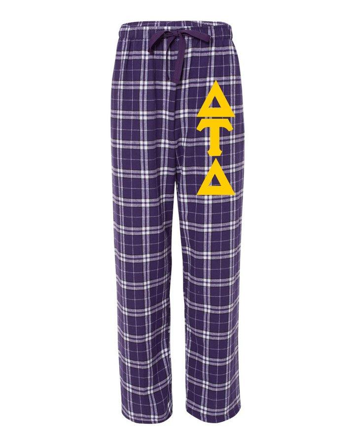 Delta Tau Delta Pajamas Flannel Pant
