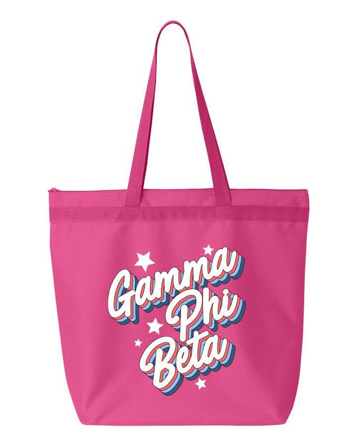 Gamma Phi Beta Flashback Tote bag