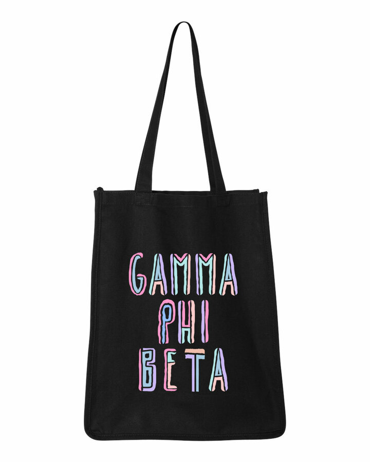 Gamma Phi Beta Jumbo All In Tote Bag