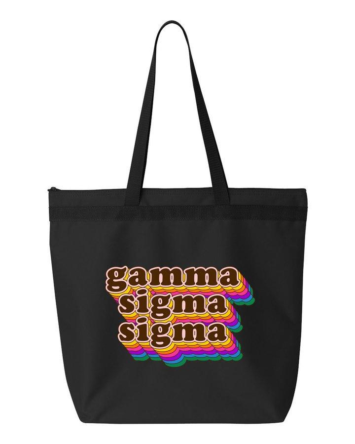 Gamma Sigma Sigma Maya Tote Bag