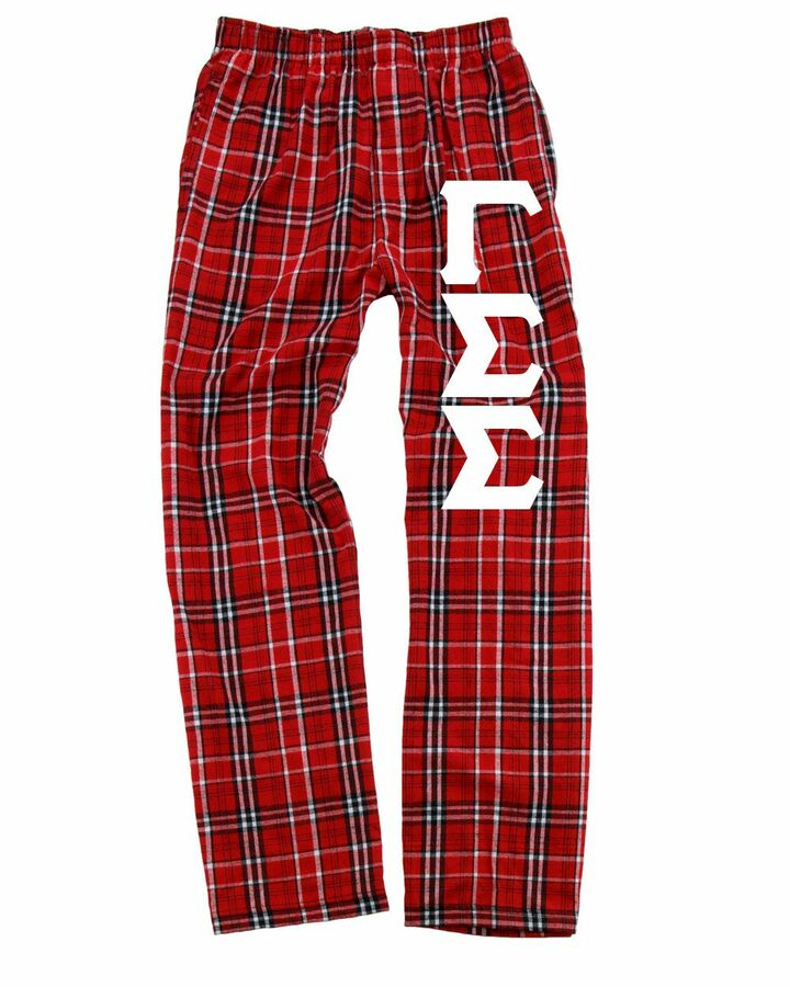 Gamma Sigma Sigma Pajamas -  Flannel Plaid Pant