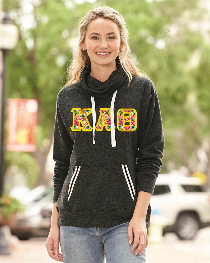 J. America Relay Sorority Cowlneck Sweatshirt
