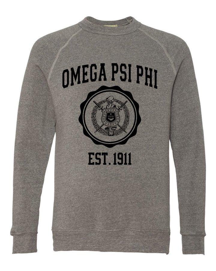 Omega Psi Phi Alternative - Eco-Fleece™ Champ Crewneck Sweatshirt