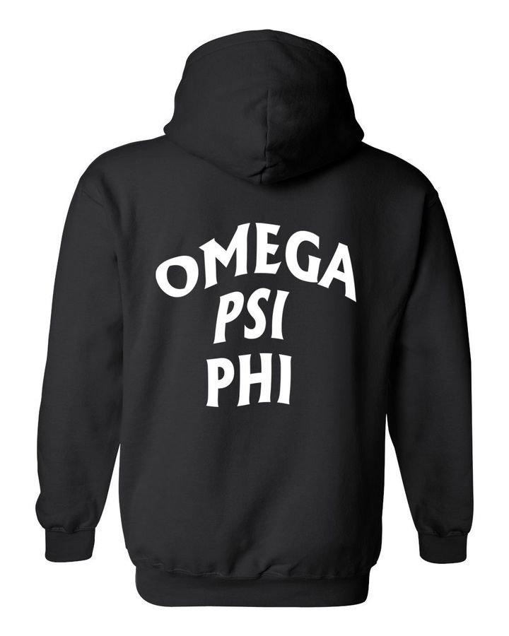 Omega Psi Phi Social Hooded Sweatshirt