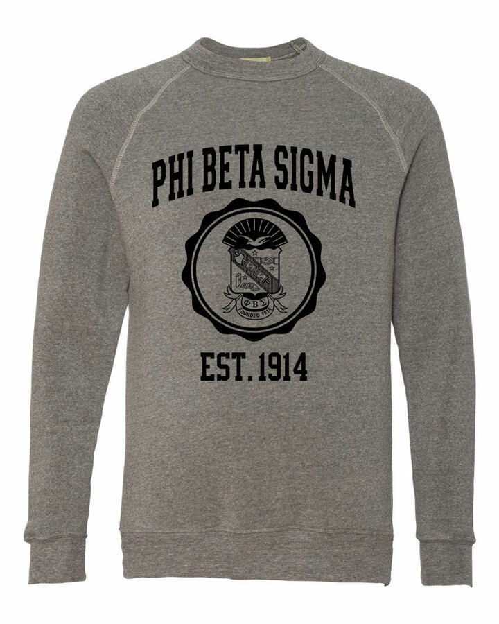 Phi Beta Sigma Alternative - Eco-Fleece™ Champ Crewneck Sweatshirt