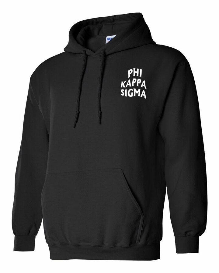 Phi Kappa Sigma Social Hooded Sweatshirt