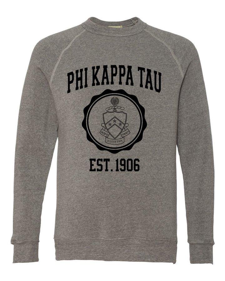 Phi Kappa Tau Alternative - Eco-Fleece™ Champ Crewneck Sweatshirt
