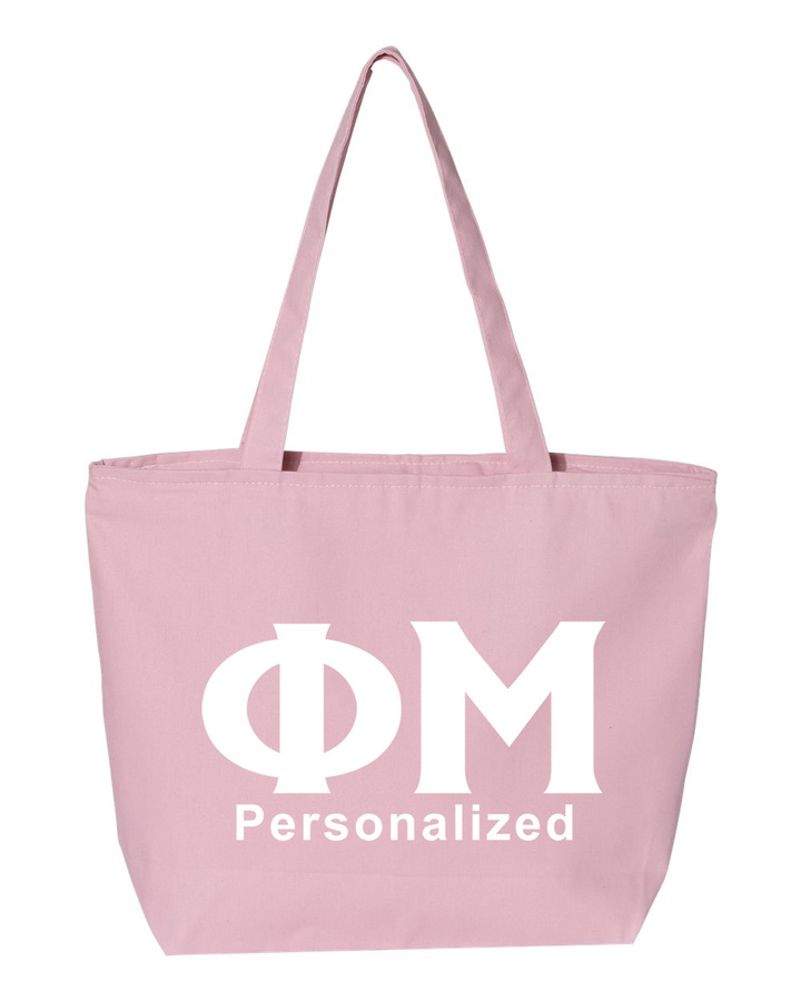 Phi Mu Design Your Own Tote Bag