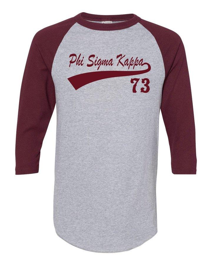 Phi Sigma Kappa Tail Year Raglan