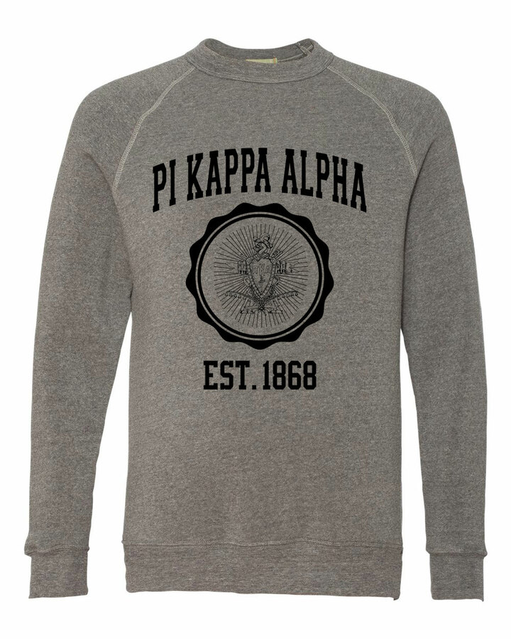 Pi Kappa Alpha Alternative - Eco-Fleece™ Champ Crewneck Sweatshirt