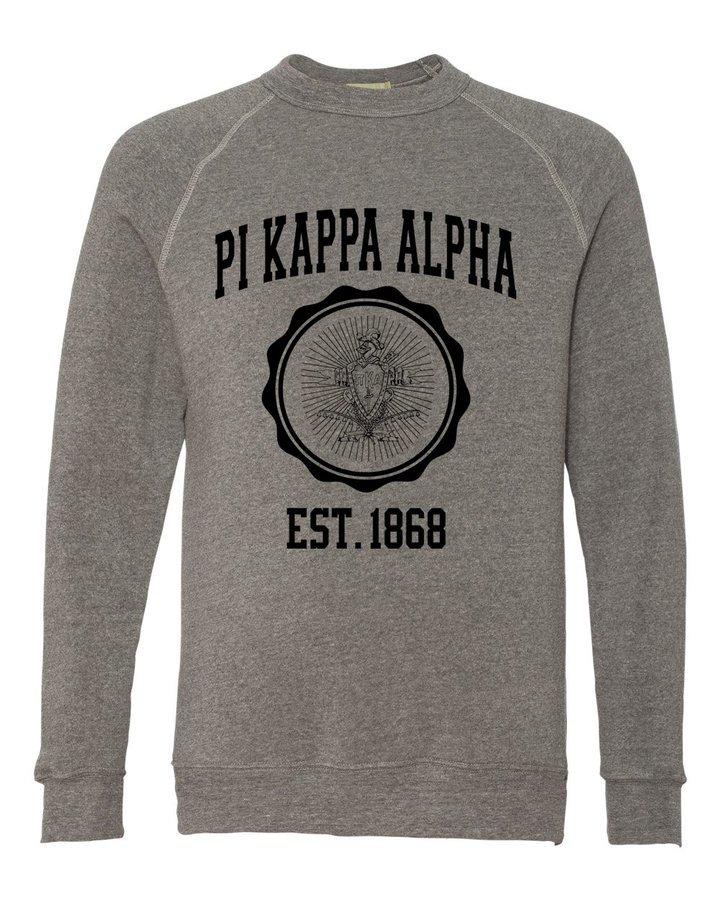Pi Kappa Alpha Alternative - Eco-Fleece™ Champ Crewneck Sweatshirt