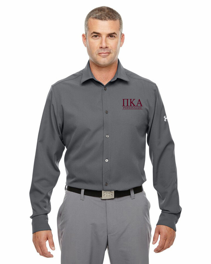 Pi Kappa Alpha Under Armour®  Men's Ultimate Fraternity Long Sleeve Buttondown
