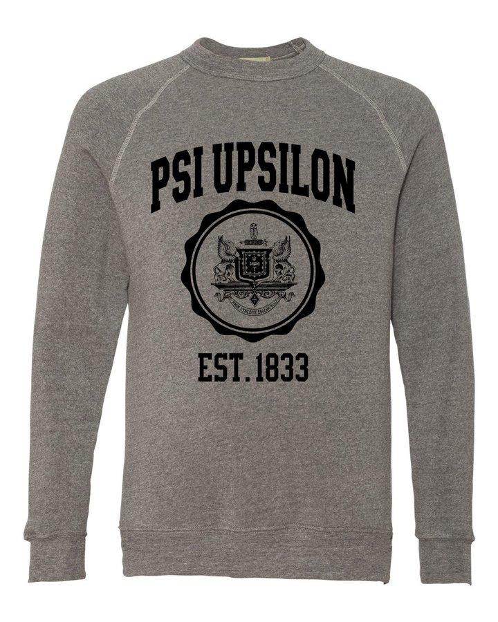 Psi Upsilon Alternative - Eco-Fleece™ Champ Crewneck Sweatshirt