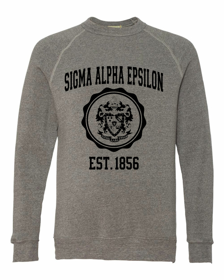 Sigma Alpha Epsilon Alternative - Eco-Fleece™ Champ Crewneck Sweatshirt