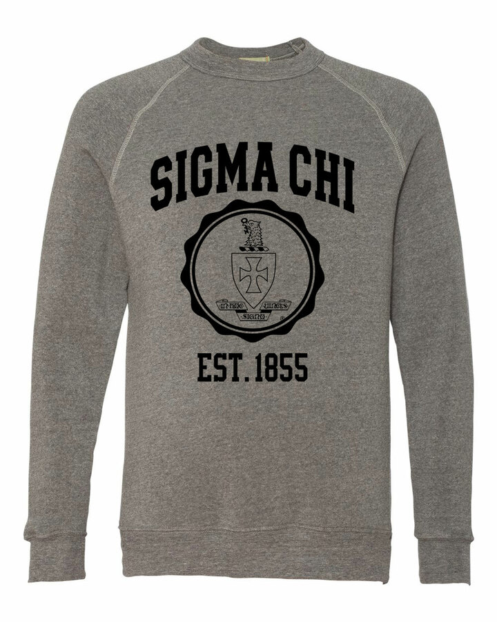 Sigma Chi Alternative - Eco-Fleece™ Champ Crewneck Sweatshirt