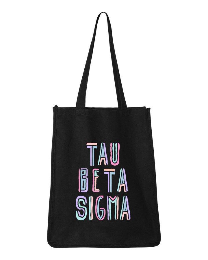 Tau Beta Sigma Jumbo All In Tote Bag