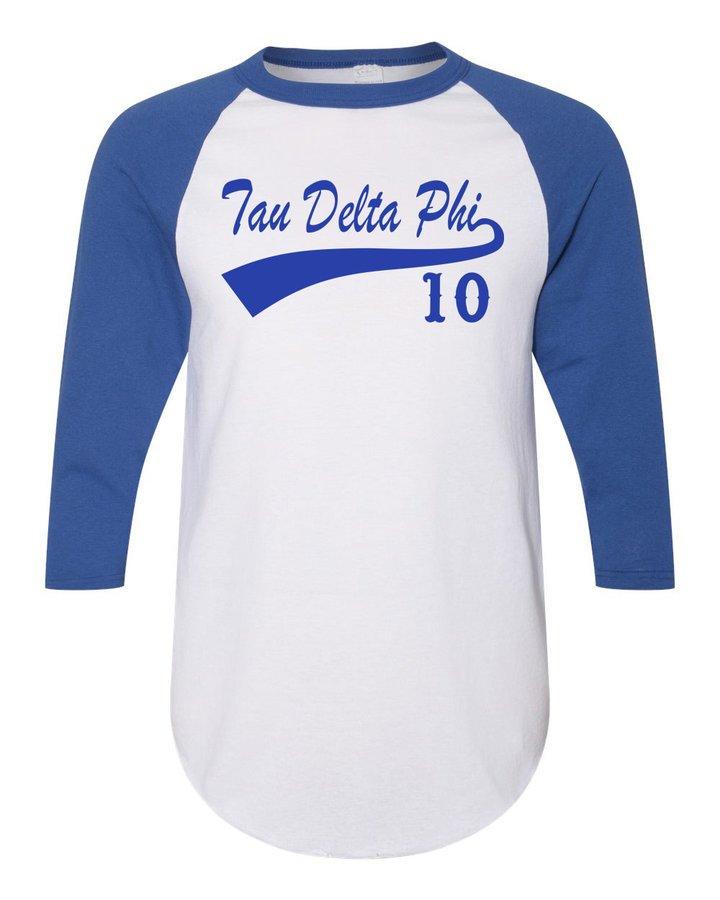 Tau Delta Phi Tail Year Raglan