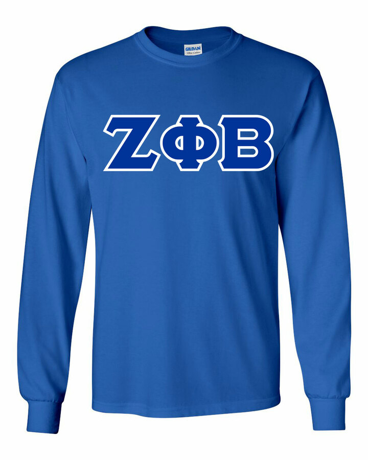 Zeta Phi Beta Long Sleeve T-shirts