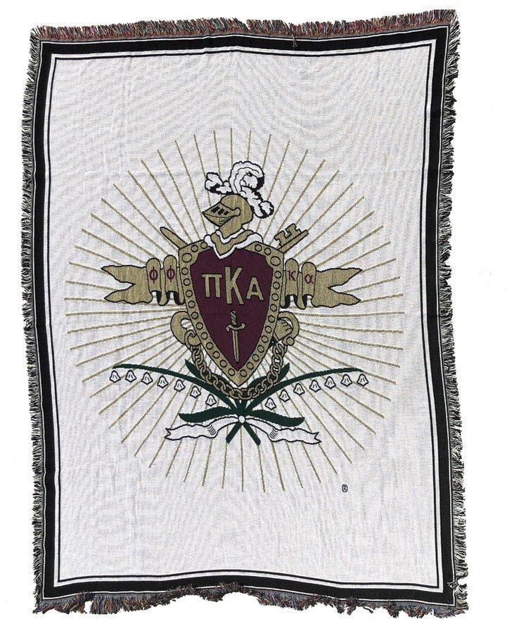 Pi Kappa Alpha 2 Layer Afghan Blanket