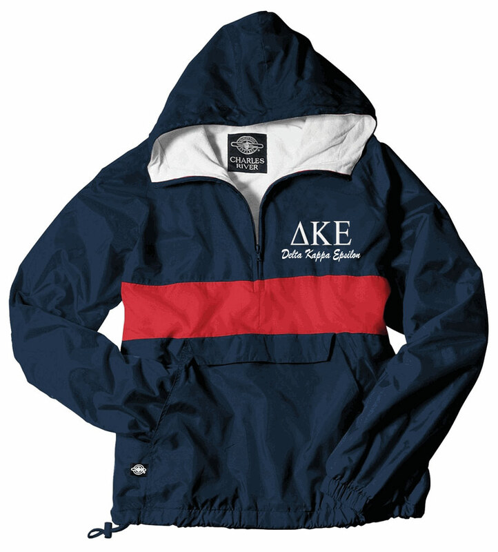 Classic Charles River Greek Pullover Anorak