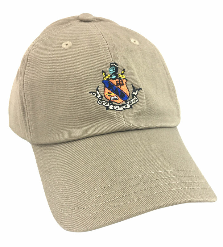 Kappa Delta Rho Fraternity Discount Crest - Shield Hats