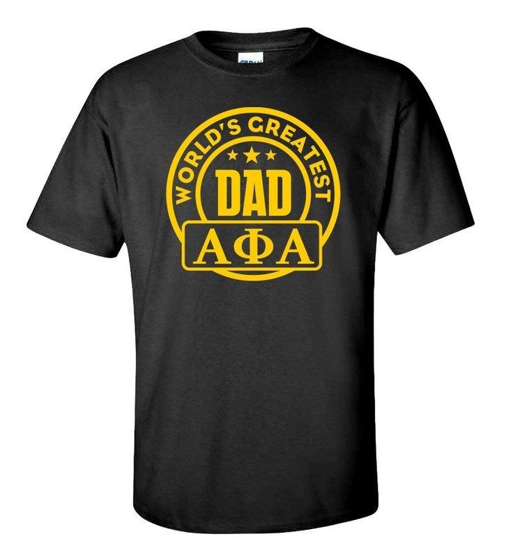 Alpha Phi Alpha World's Greatest Father T-Shirt