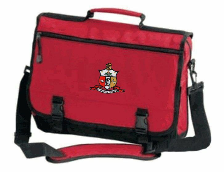 DISCOUNT-Kappa Alpha Psi Emblem Briefcase