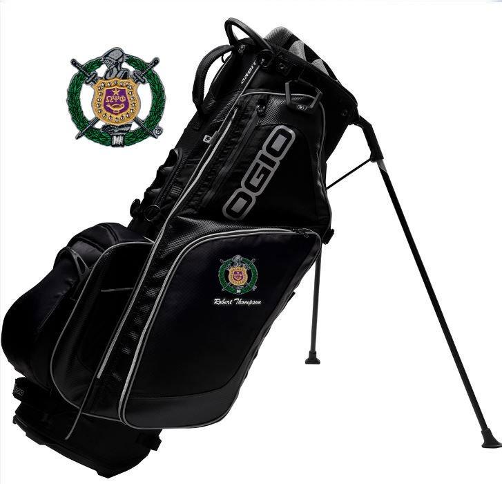 Omega Psi Phi Golf Bags