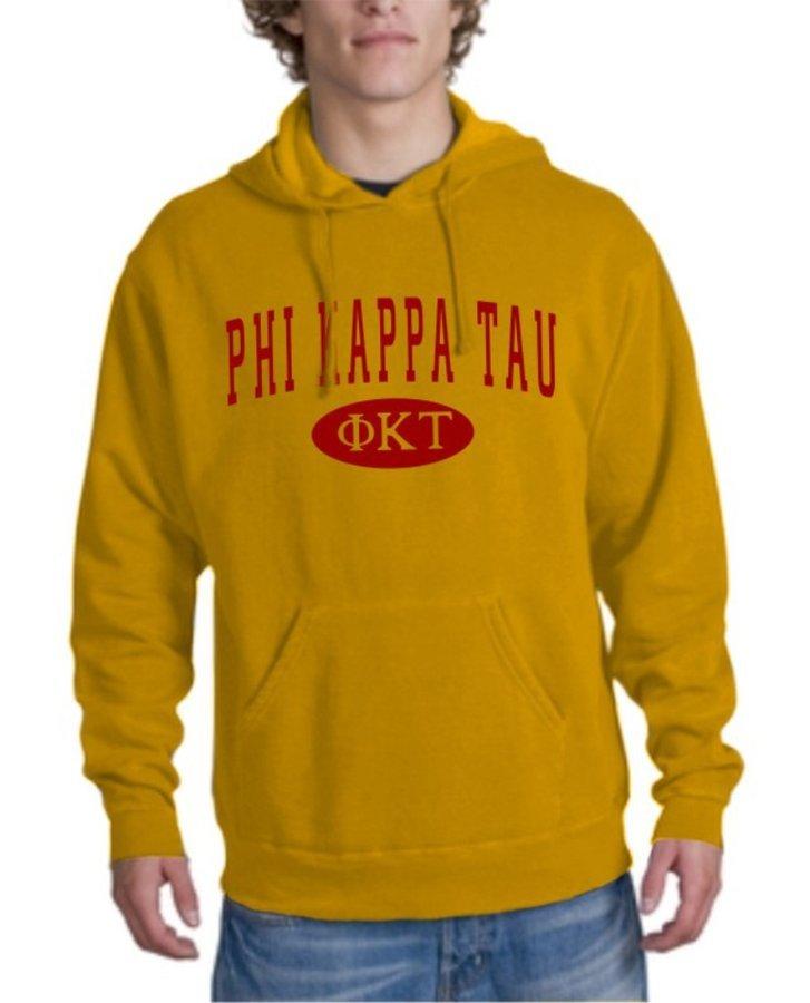 Phi Kappa Tau arch Hoodie