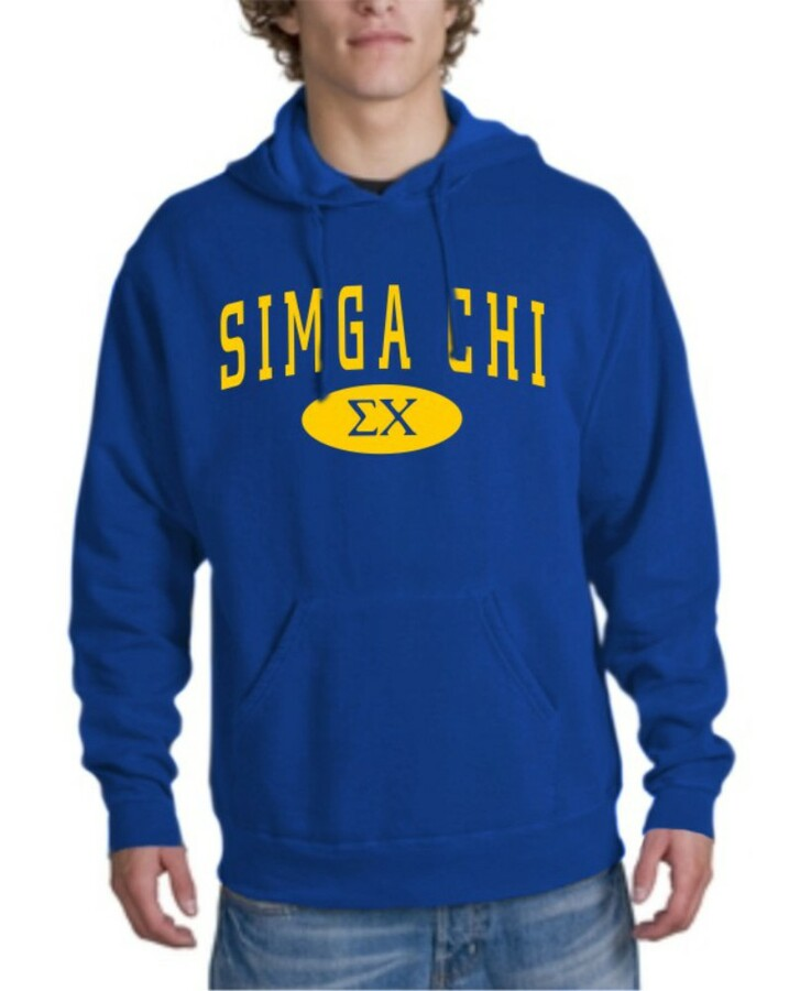 Sigma Chi arch Hoodie
