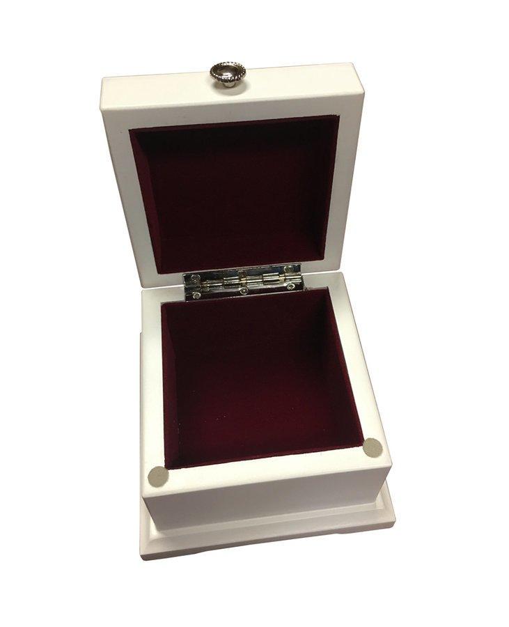 Alpha Kappa Alpha Bianca Wood Box