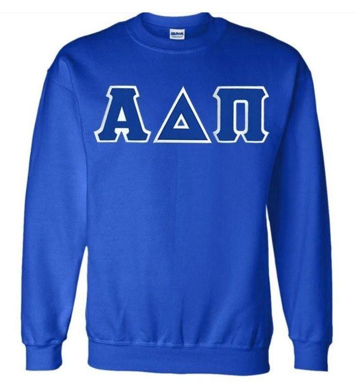 $25 Alpha Delta Pi Custom Twill Sweatshirt